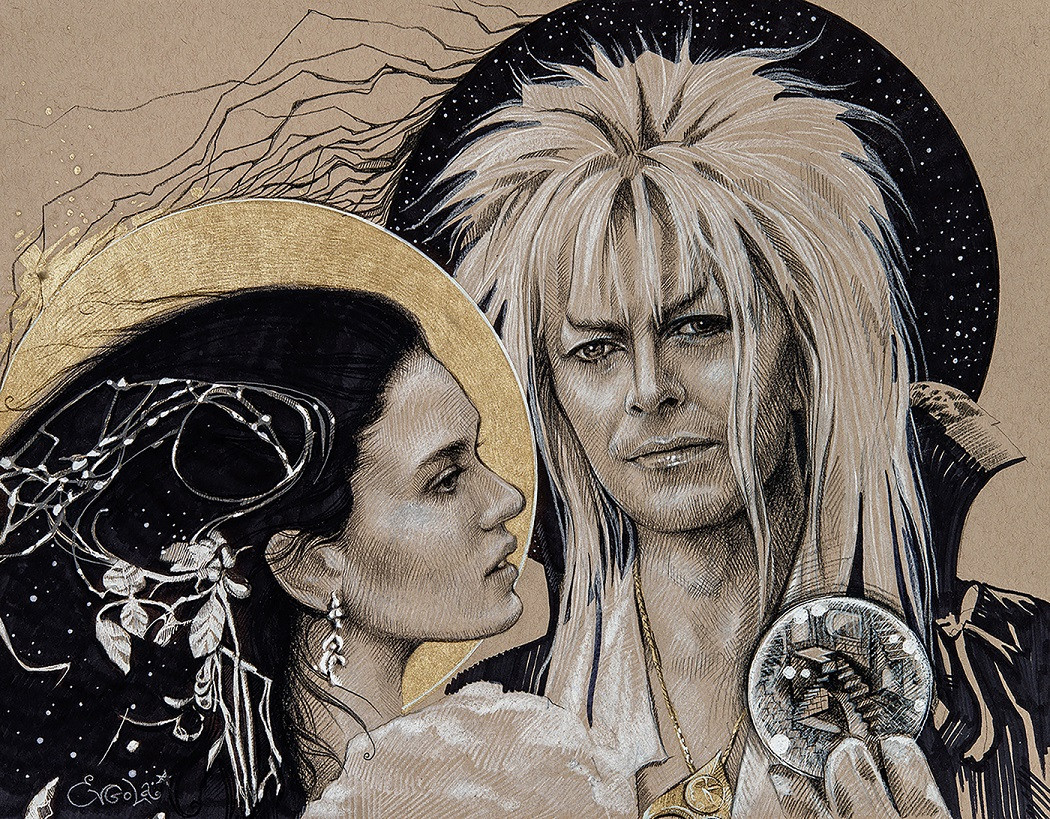 Labyrinth art for Yay! Legends Every Day
