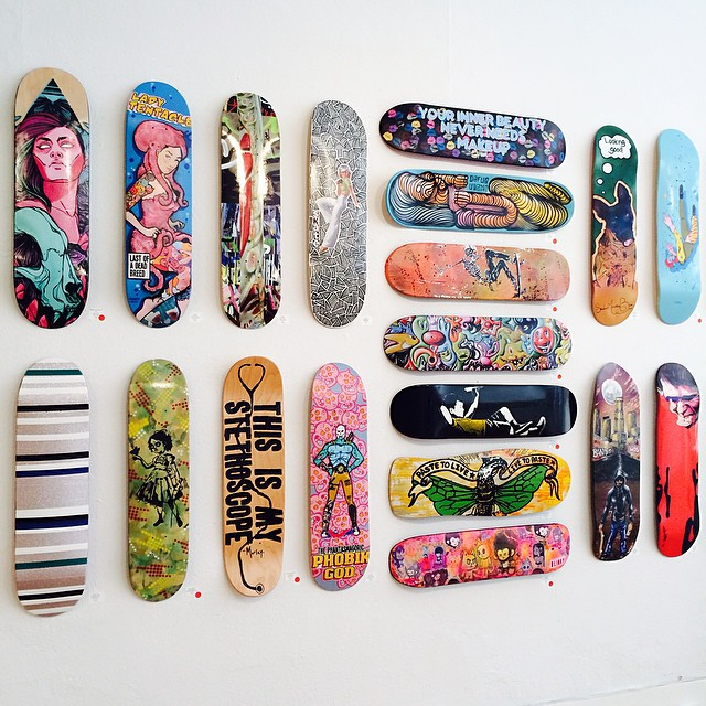 skate-and-create-flower-pepper-gallery-wall